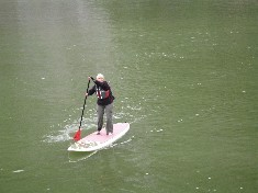 Mrs. King's Paddle boarding in Alaska