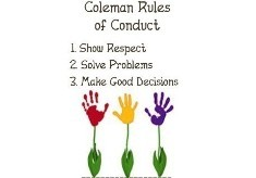 Coleman Rules of Conduct