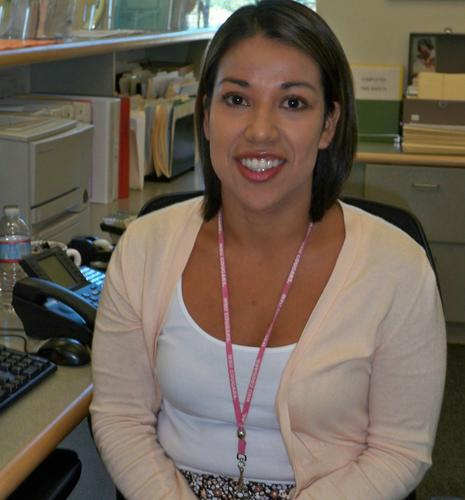 Ms. Alvarenga- The Administrative Assistant